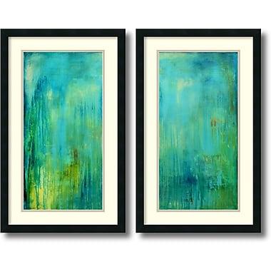 Amanti Art ? Impression encadrée « Blue Mountain Rain » par Erin Ashley, 31 haut. x 19 larg. (po), 2/pqt (DSW1004337)