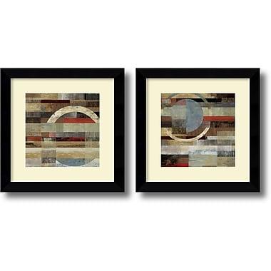 Amanti Art ? Impression encadrée « Industrial » par Tom Reeves, 19,63 haut. x 19,63 larg. (po), 2/paquet (DSW1004375)