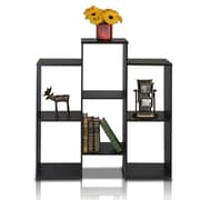 "Furinno® 35.7"" x 36.2"" Laminate & Wood Bookcase"