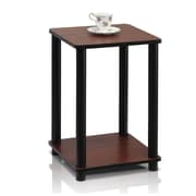 "Furinno® 20"" x 13.4"" Rubber & Polyvinyl Chloride End Table"