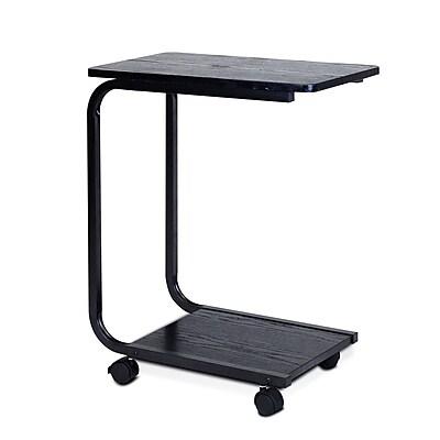Furinno® Metal & Wood U-Shaped Laptop Desk