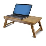 Furinno® Natural bamboo Adjustable Notebook Lapdesk