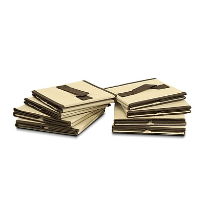 Furinno® Foldable Storage Drawer, Brown