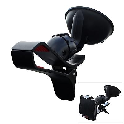 Furinno® Polyurethane Car Phone Mount Holder, Black