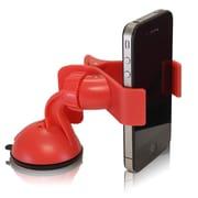 Furinno® Polyurethane Car Phone Mount Holder, Red