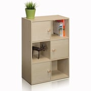 "Furinno® 31.5"" x 23.6"" Composite Wood Bookcase"