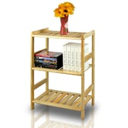 Furinno® Solid Wood 3-Tier Shelf