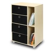 Furinno® Multipurpose Wood Storage Cabinet Bookcase Dresser