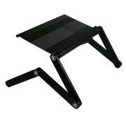 Furinno® Laptop Table Aluminum Alloy Portable Bed Tray Book Stand, Black