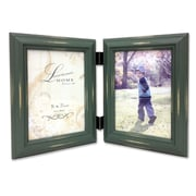 """Lawrence Frames 640357D Weathered Green Wood 5.47"""" x 3.66"""" Picture Frame"""