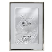 """Lawrence Frames 650057 Silver Metal 7.13"""" x 5.12"""" Picture Frame"""