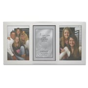 "Lawrence Frames 750046T Silver Metal 6.7"" x 13.9 Picture Frame"