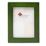 "Lawrence Frames 756023 Green Wood 3.1"" x 4.1"" Picture Frame"