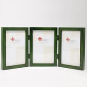 """Lawrence Frames 756046T Green Wood 6.6"""" x 14.1"""" Picture Frame"""