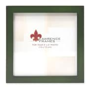 """Lawrence Frames 756055 Green Wood 6.6"""" x 14.1"""" Picture Frame"""
