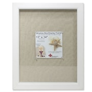 """Lawrence Frames 168111 White Polystyrene 9.8"""" x 9.8"""" Picture Frame"""