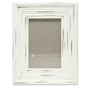 """Lawrence Frames 533546 Weathered Ivory Polystyrene 8.88"""" x 6.88"""" Picture Frame"""