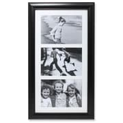 "Lawrence Frames Lawrence Home 4"" x 6"" Triple Non Hinged Polystyrene Gallery Picture Frame 536057T"