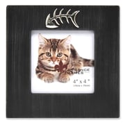 "Lawrence Frames Sentiments 4""L x 4W"" Wood Pet Picture Frame 545544"