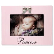 """Lawrence Frames Lawrence Nursery 6""""L x 4""""W Wood Baby Picture Frame 545764"""