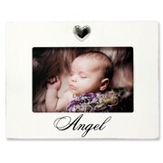 """Lawrence Frames Lawrence Nursery 6""""L x 4""""W Wood Baby Picture Frame 545864"""