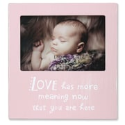 """Lawrence Frames Lawrence Nursery 6"""" x 4"""" Wood Baby Picture Frame 546064"""