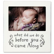 """Lawrence Frames Lawrence Nursery 6"""" x 4"""" Wood Baby Picture Frame 546164"""