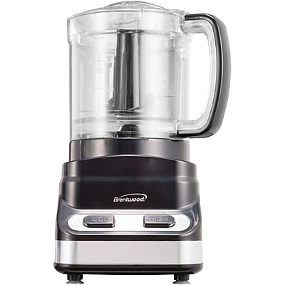 Brentwood 200 W 3 Cup Food Processor; Black 1196758