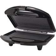 Brentwood® 650 W Non-Stick Panini Maker; Black/Stainless Steel