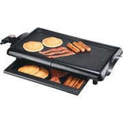 Brentwood® 1400 W Non-Stick Electric Griddle, Black