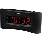 Naxa® NRC-165 FM Dual Alarm Clock With USB Charger