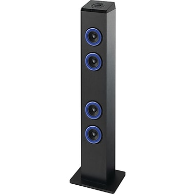Ilive Blue™ Blue ITB124B Bluetooth Tower Speaker With LED Light, Black