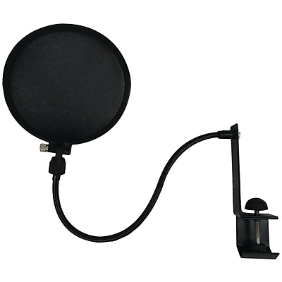 Nady™ SPF-1 Microphone Pop Filter With Boom & Stand Clamp