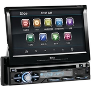 "Boss® BV9979B 7"" In-Dash Single-Din Motorized Detachable Touchscreen Bluetooth DVD Player"