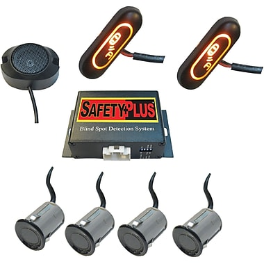 CrimeStopper SafetyPlus Universal Front and Rear Blind Spot Detection System (CSPBSD754)