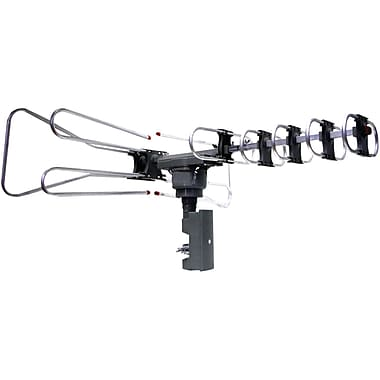 Naxa® NAA-350 Amplified Outdoor TV Antenna With Remote Directional Control