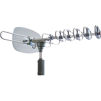 Naxa® High Powered Amplified Motorized Outdoor Antenna For ATSC Digital Television
