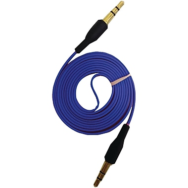 iessentials 3.3' Flat Male to Male Auxiliary Cables