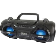 Naxa® NPB-258 MP3/CD Party Boombox and USB/SD Player
