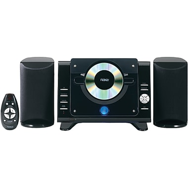 Naxa® NS-435 Digital MP3/CD Microsystem With AM/FM Radio