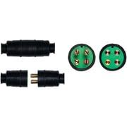 Install Bay JW4136 18AWG Male and Female Input Speaker Plug