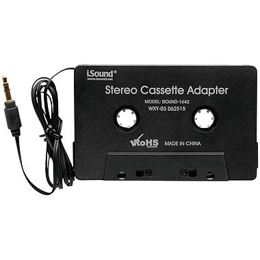 iSound® 1642 Stereo Cassette Adapter