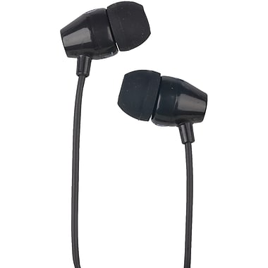 RCA HP159-BK Noise-Isolating In-Ear Earbud, Black