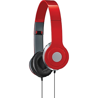 iLive High-Quality Stereo Headphone, Red (GPXIAH54R)