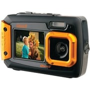 Coleman® 2V9WP 20.0 Megapixel Duo2 Dual Screen Waterproof Digital Camera, Orange
