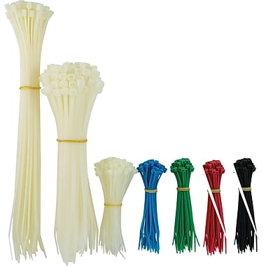 GE Assorted Sized Plastic Cable Tie Set