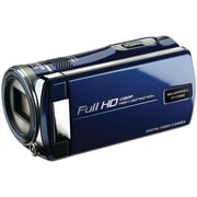 Bell & Howell DV12HDZ 16.0 Megapixel Cinema 1080p Digital Camcorder, Blue