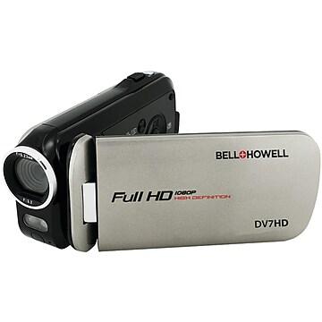 Image of Bell & Howell DV7HD 16.0 Megapixel Slice Ii Ultraslim 1080p HD Camcorder, Gray,Size: large
