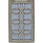 GE Faux Nickel Leaf Design Night Light