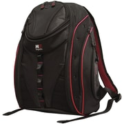 "Mobile Edge Express 2.0 16"" PC/17"" MacBook Backpack, Black/Red"